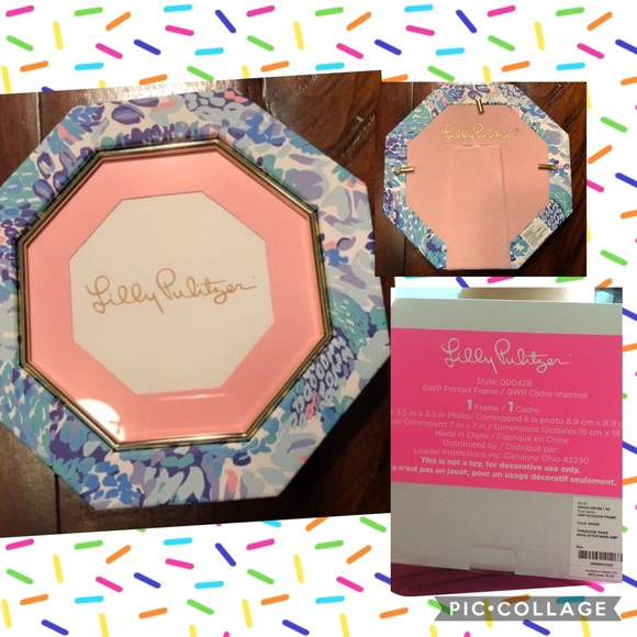 3/$60 NWT Lilly Pulitzer picture frame New in box
